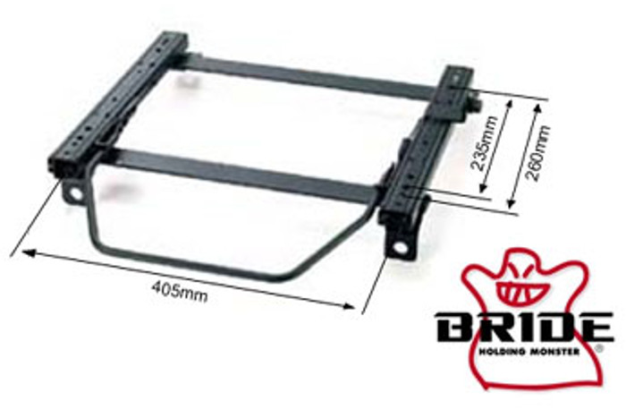 Bride Acura Integra DC#/DB# RO-Type LH Seat Rail