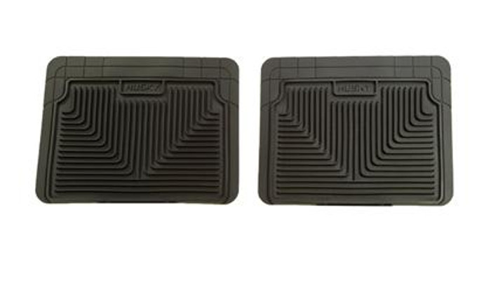 Husky Liners  Black 2nd Row Floor Mats