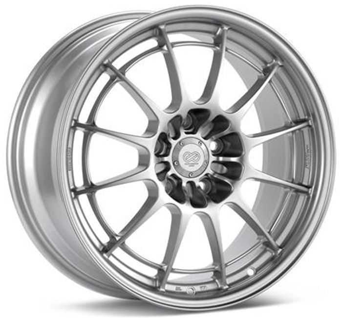 Enkei NT03 17x7.5 4x100 40mm Offset 72.6mm Bore Silver Wheel