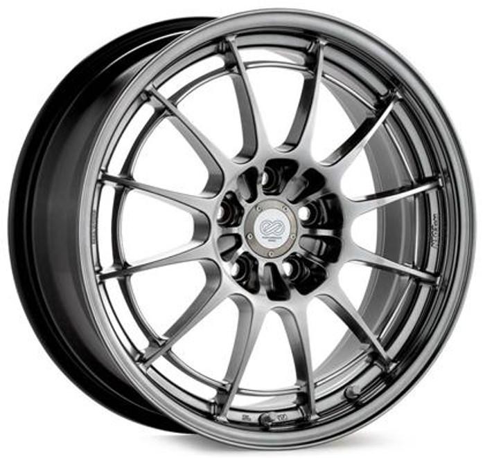 Enkei NT03 17x7.5 4x100 45mm Offset 72.6mm Bore Hyper Silver Wheel
