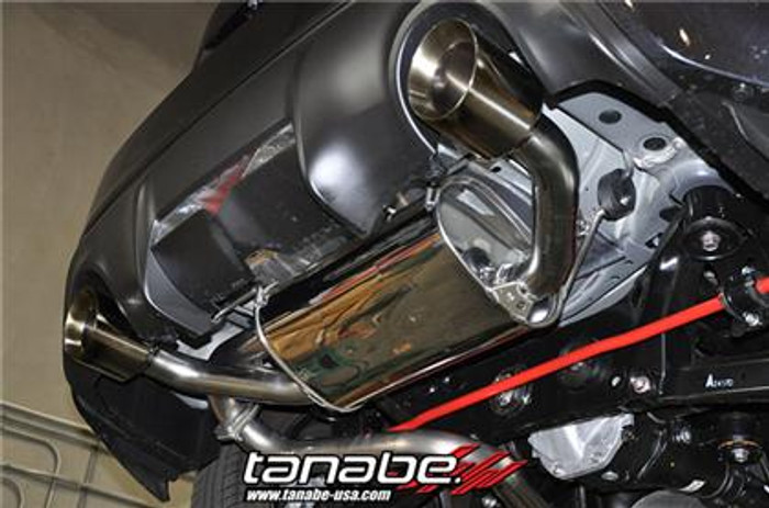 Tanabe Medallion Touring Catback Dual Tip Exhaust