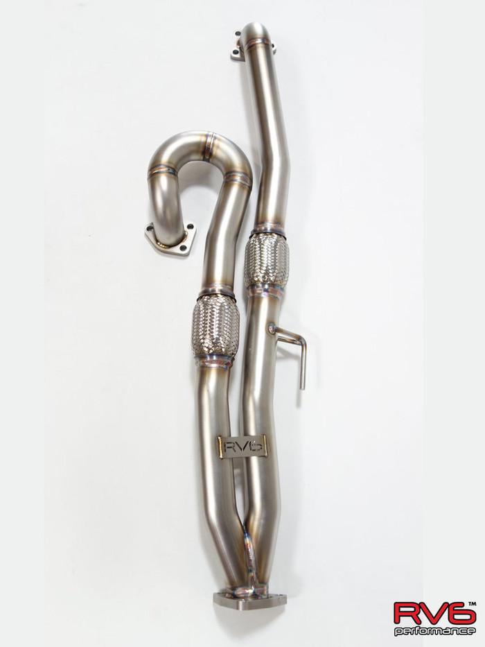 RV6™ Long Tube Jpipe Kit for 08-12 Accord V6 (3.5L) (RV-6 8th gen ACCORD j-pipe)