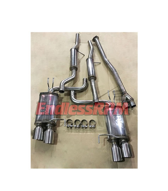 endless 2009 2010 2011 2012 2013 2014 4th gen ACURA TL AWD v2 performance catback exhaust