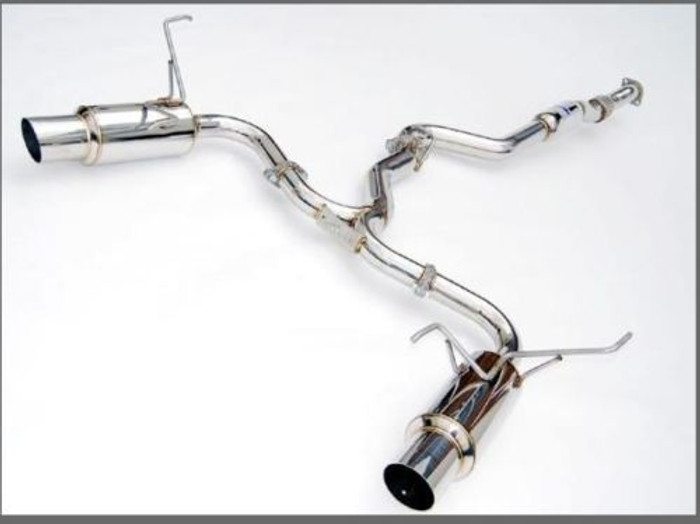 Subaru WRX and STI Invidia Cat Back Exhaust | N1 Stainless Tip |