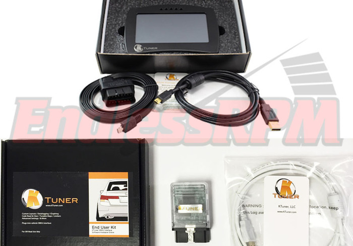 KTuner Flash End User Kit for 07-08 TL Base & Type-S V6 + V2