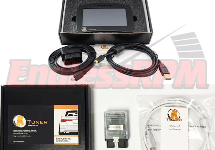 KTuner Flash End User Kit for 07-08 TL Base & Type-S V6 + V2