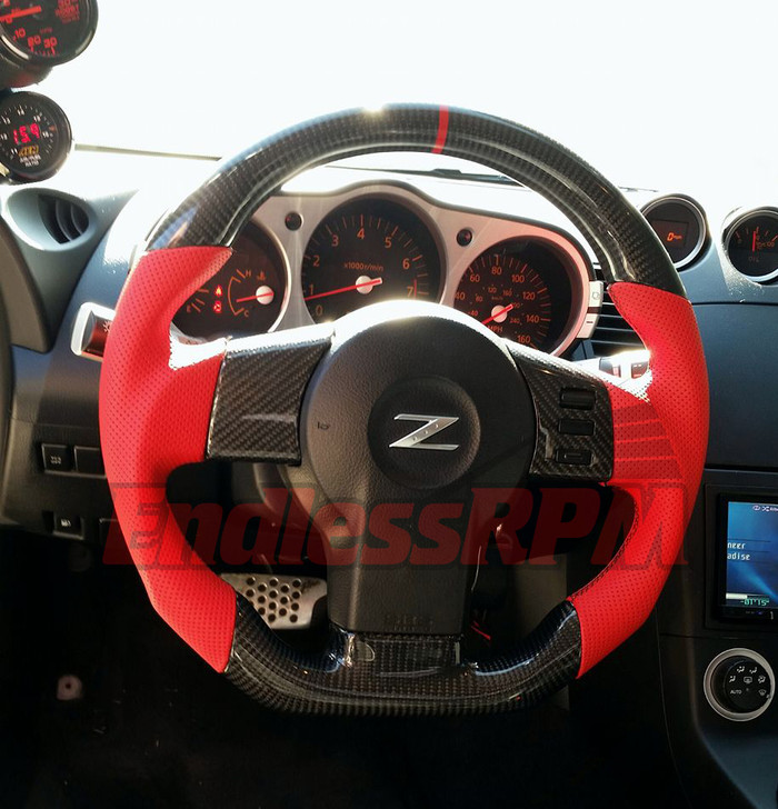 custom Nissan z steering wheel