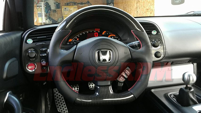 Honda s2000 s2k AP1 AP2 custom carbon Fiber steering wheel