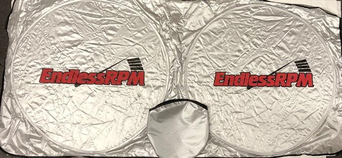 EndLessRPM Front Windshield sun blocker