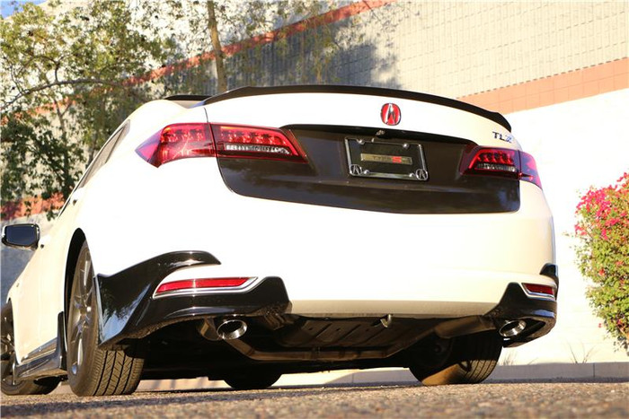 Acura TLX XLR8 Catback Exhaust System - FWD 2015-2017 ( Exposed TIPs)