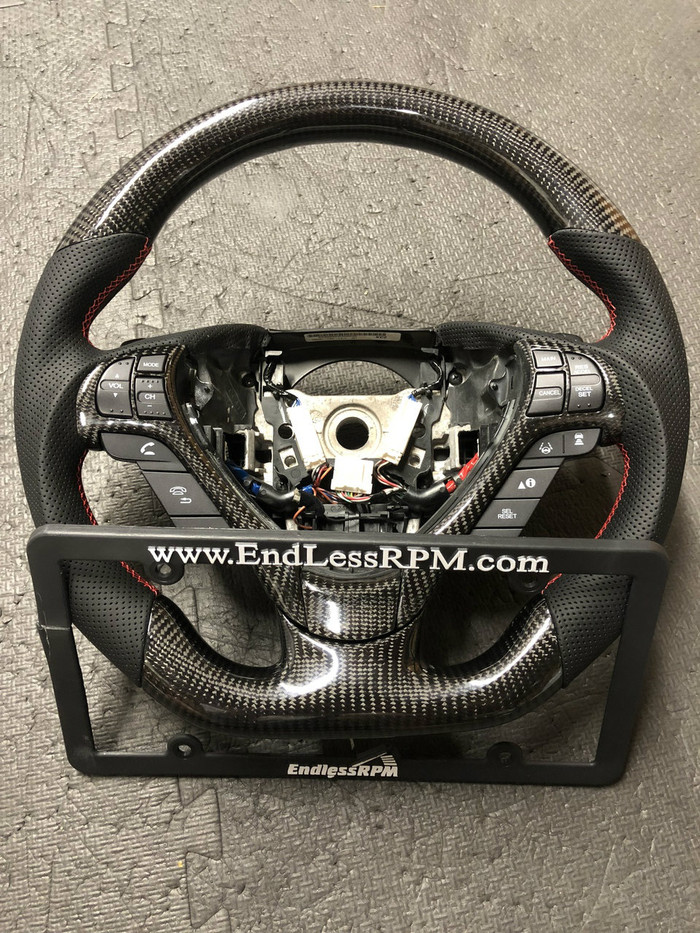 Custom Carbon Fiber Steering Wheel ACURA ILX - (2013-17)