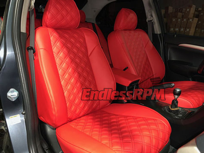 Acura TSX Diamond Pattern Seat Replacements - Single color 2004-2008 CL9