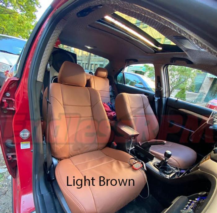 Acura TSX 2004-2008 CL9 Classic Leather Clazzio Seat Skins - Single color