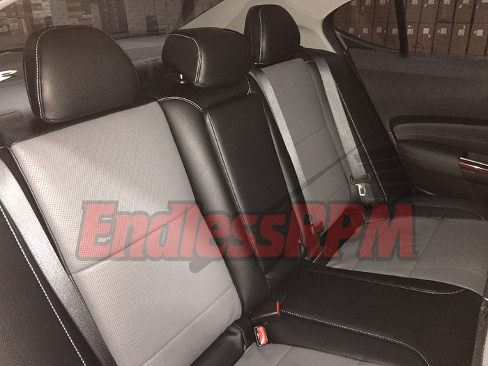 Acura TSX 2004-2008 CL9 Classic Leather Clazzio Seat Skins - Custom color ($30 off sale ends march 1st) (0408TSX-CL9CLeather)