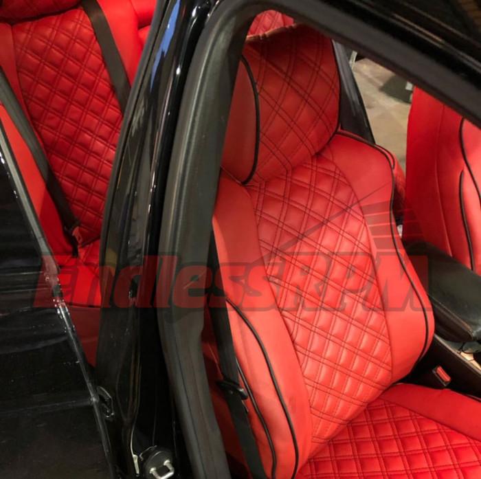 Lexus IS Diamond Pattern Seat Replacements - Custom color 2014-2019