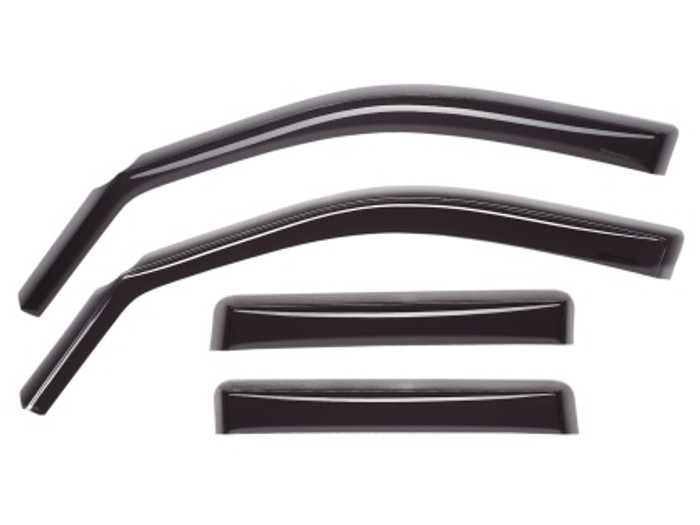 WeatherTech 08-12 Honda Accord Front and Rear Side Window Deflectors - Dark Smoke