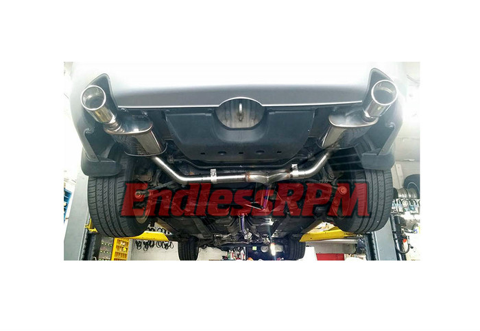 EndlessRPM Acura TL 04-08 Performance Catback Exhaust System