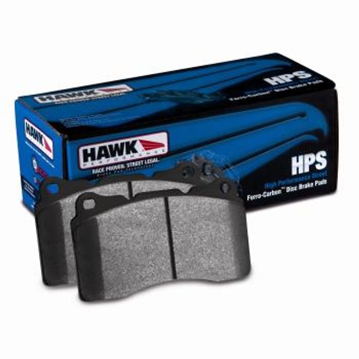 Hawk 07-08 Acura TL Type S / 99-08 Acura TL 3.2L HPS Street Rear Brake Pads (F code, see description)