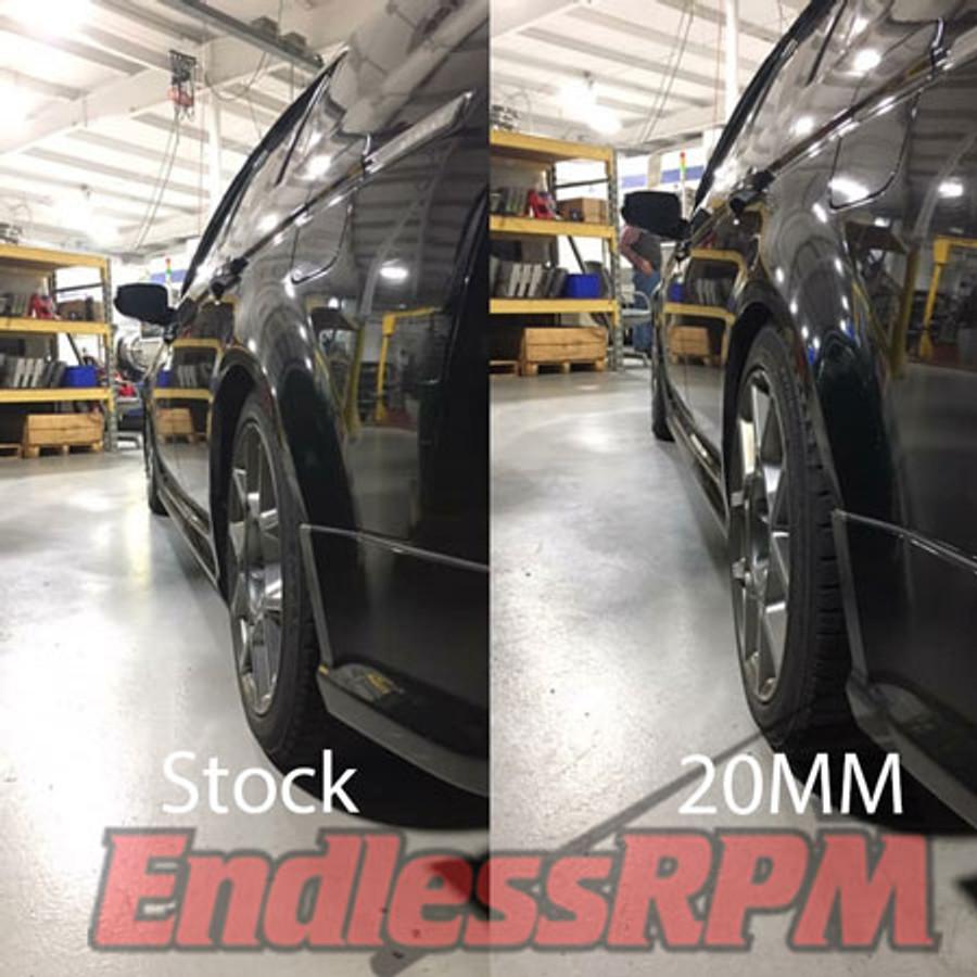 20mm vs stock proteg wheel spacers
