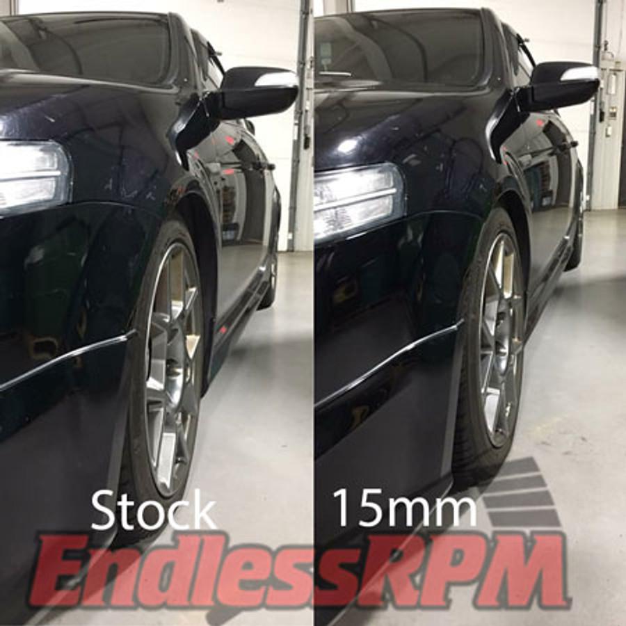 15mm vs stock proteg wheel spacers