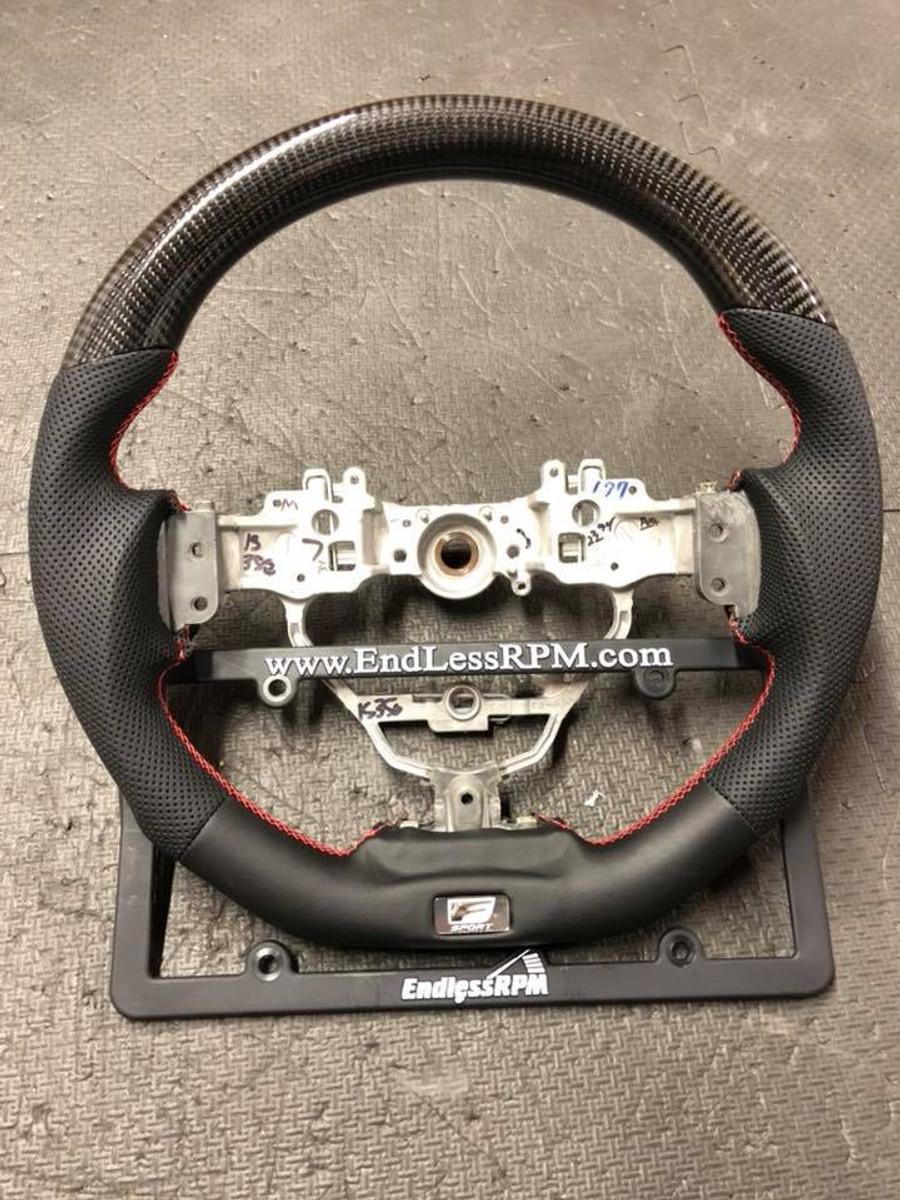 Custom Steering Wheel (2014-2018 Lexus IS / IS-F sport)
