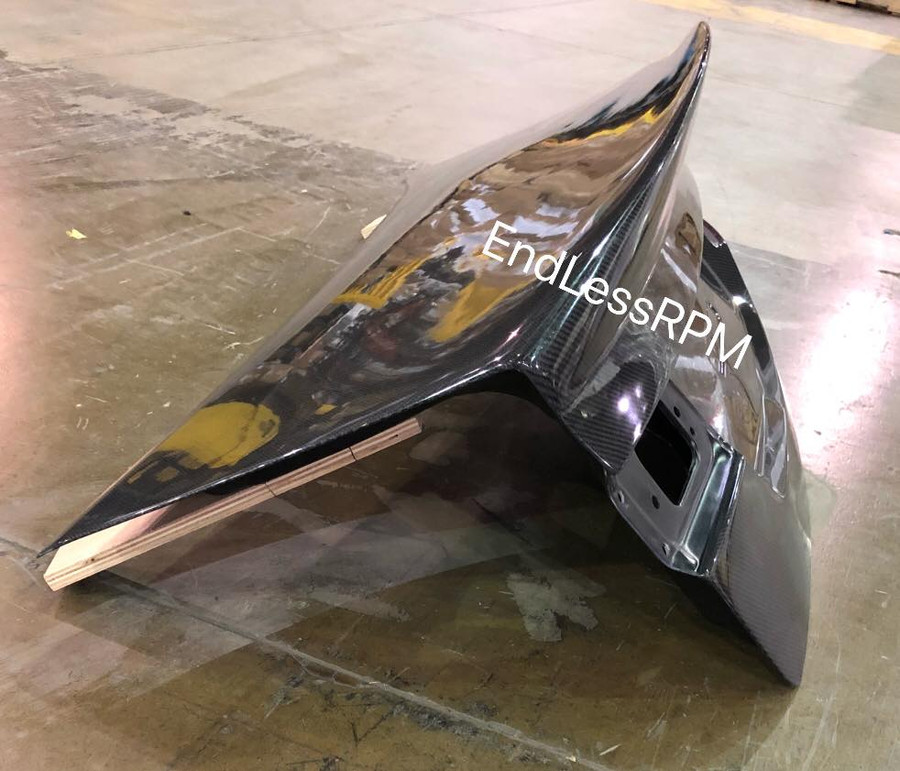 Acura TSX Carbon Fiber Duck Lip Trunk