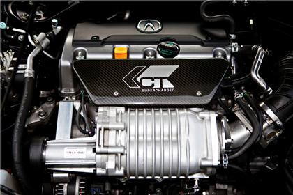 CT Engineering Supercharger Kit, 2009-14 Acura TSX I-4 CU2, 350-039