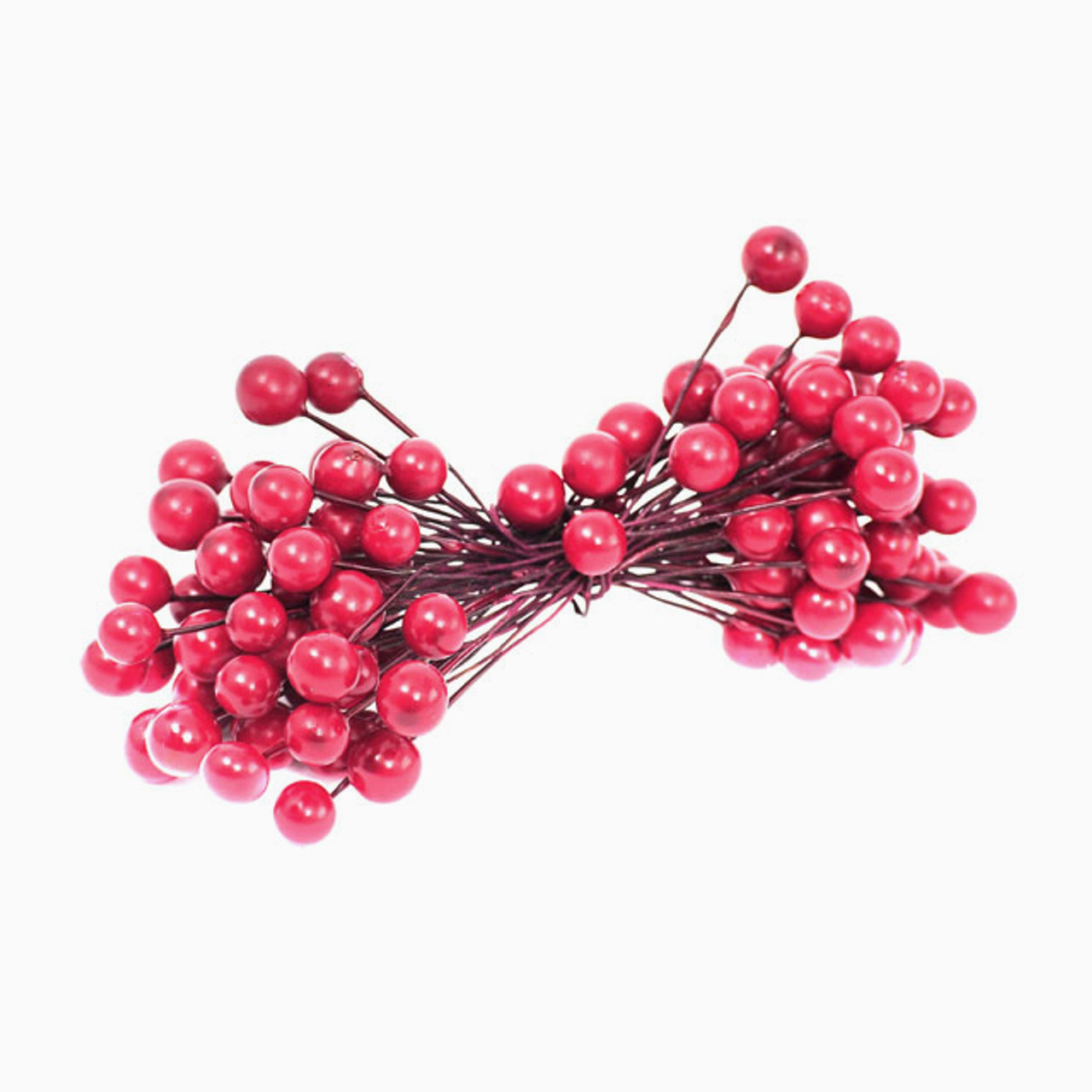 Floristrywarehouse Artificial Berry on Wire Red x 120