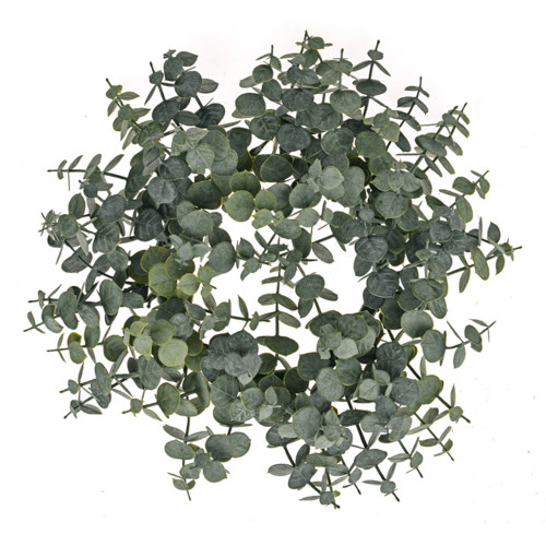 Spiral Artificial Eucalyptus Wreath 30cm