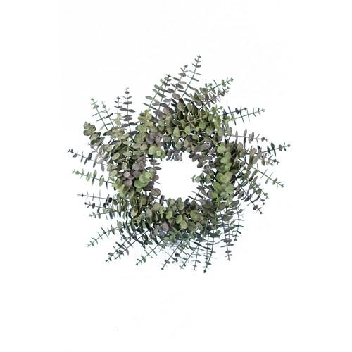 Spiral Artificial Eucalyptus Wreath 60cm