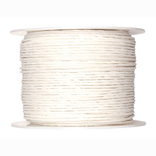 Paper Cord Wired White 2mm x 100m Reel