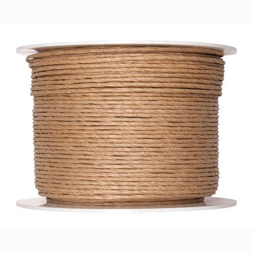 Paper Cord Wired Natural 2mm x 100m Reel