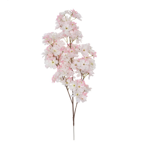 Cherry Blossom Branch Artificial 73cm x 108 Blooms Pink