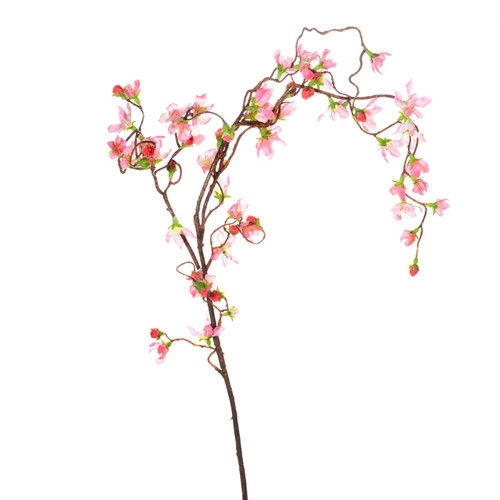 Cherry Blossom Branch Weeping 110cm  Pink