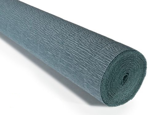 Crepe paper roll 180g (50 x 250cm) Blue Grey (shade 606)