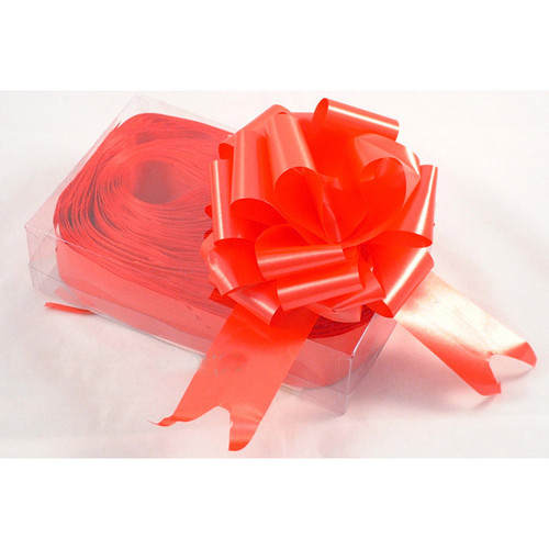 Florist Ribbon Bows 5cm Bright Red