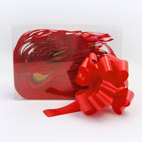 Florist Ribbon Bows 3cm Bright Red