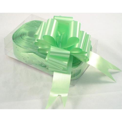 Florist Ribbon Bows 5cm Lime Green
