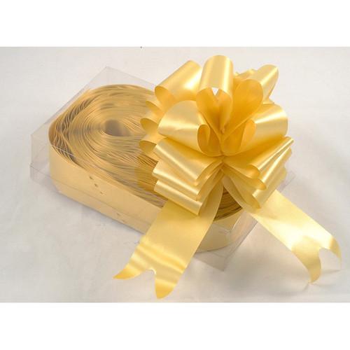 Florist Ribbon Bows 5cm Gold