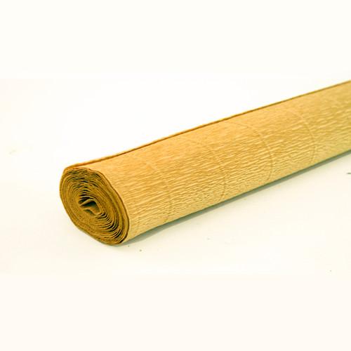Crepe paper roll 180g (50 x 250cm) Honey Mustard (shade 579)