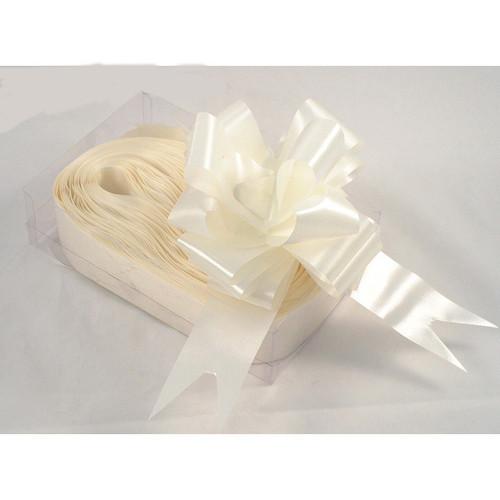 Florist Ribbon Bows 5cm Ivory Cream