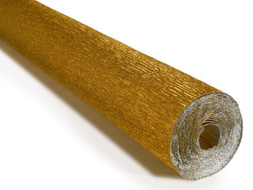 crepe, paper, craft, italian, cartotechnica, 180g,  Metallic, Yellow, Gold, 801