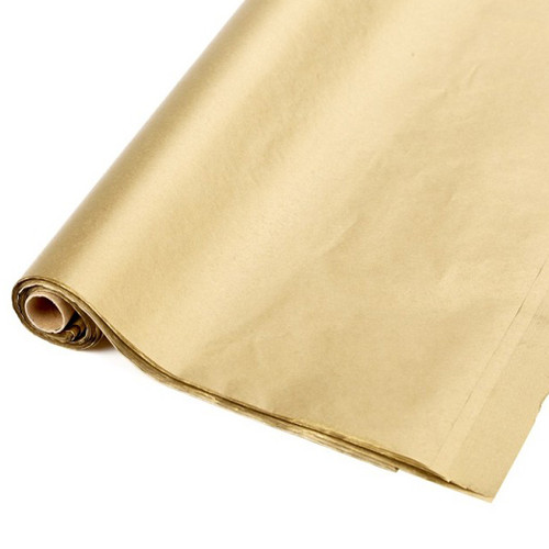Tissue Paper Roll Metallic Gold x 48 Sheets