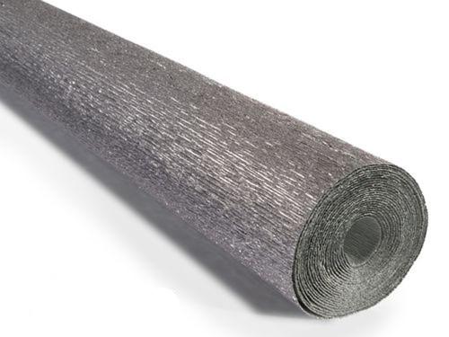 Crepe paper roll 180g (50x250cm) Metallic Silver (shade 802)