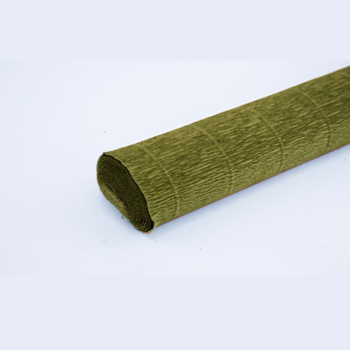 Crepe paper roll 180g (50 x 250cm) Mid Green (shade 565)