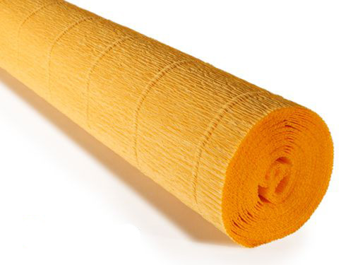 Crepe paper roll 180g (50X250cm) Old Gold (shade 576)