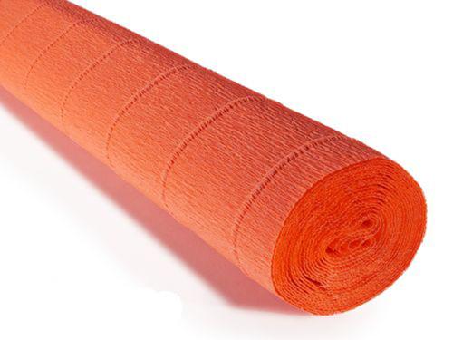 Crepe paper roll 180g (50X250cm) Orange (shade 581)
