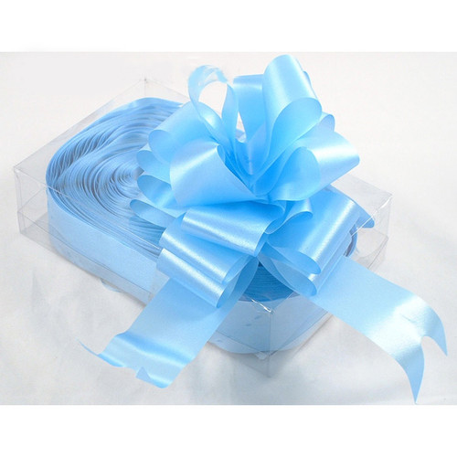 Florist Ribbon Bows 5cm Baby Pale Blue