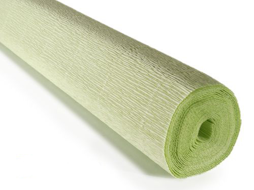Crepe paper roll 180g (50X250cm) Pale Green (shade 566)
