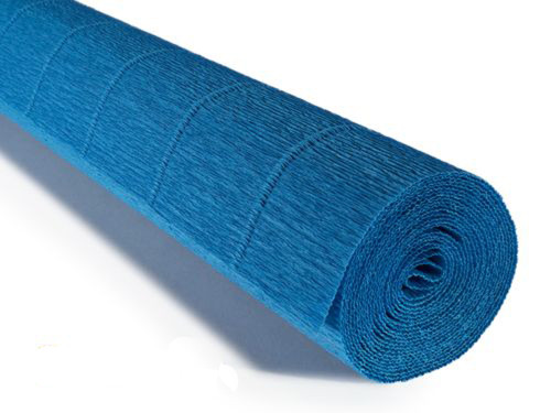 Crepe paper roll 180g (50 x 250cm) Royal Blue (shade 557)